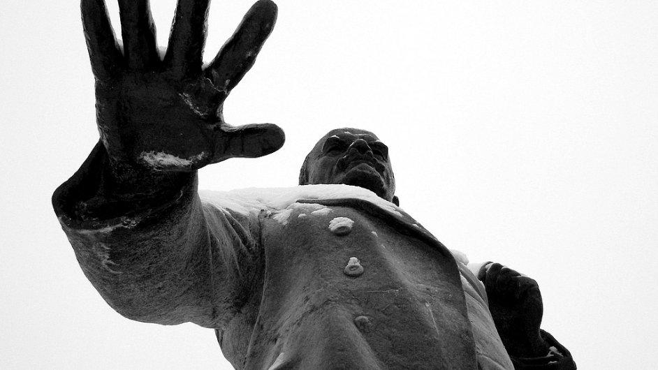 Socha Lenina - Ilustrační foto.