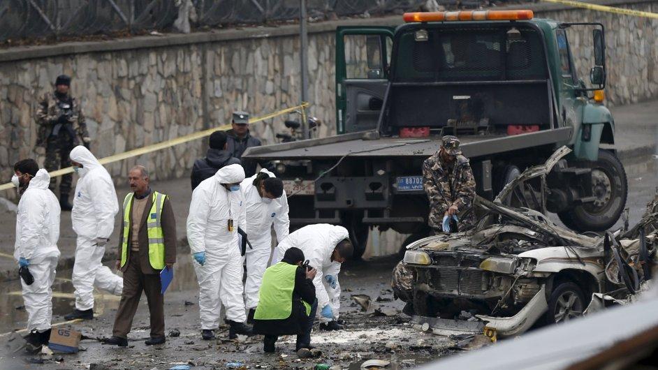 Kabul sebevražedný atentát
