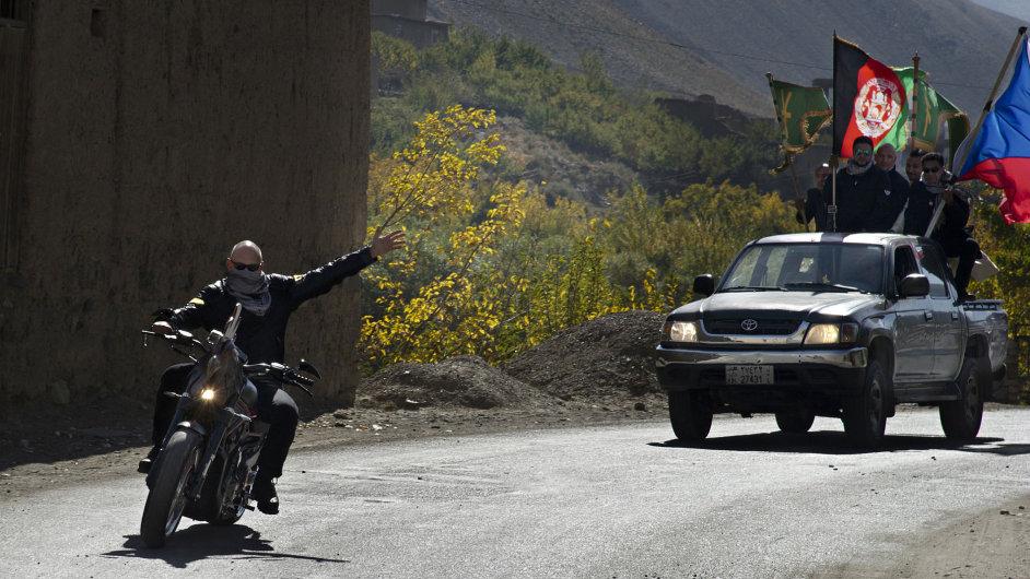Lawrence z Afghánistánu.