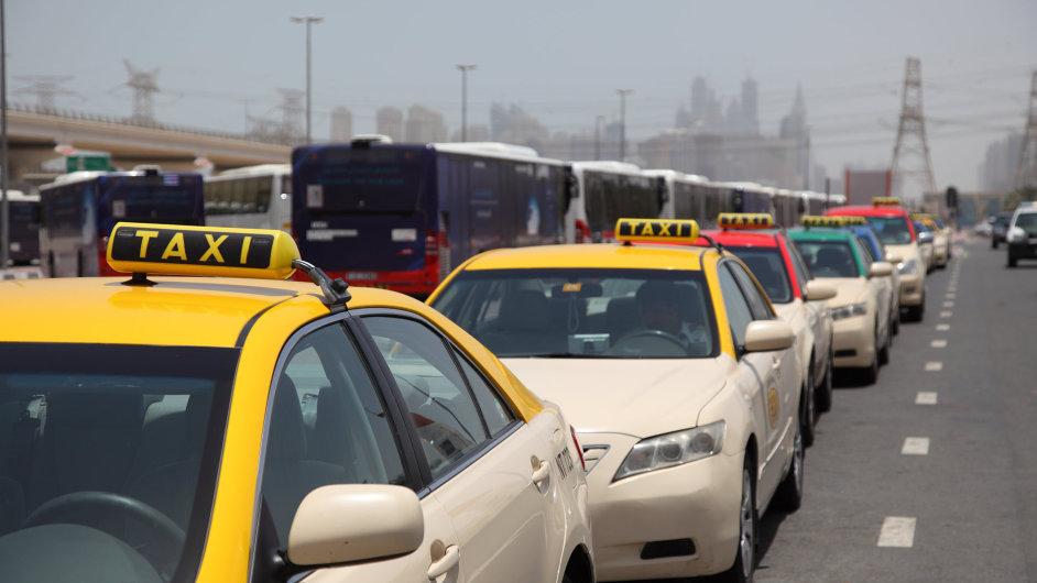 Taxi Dubaj