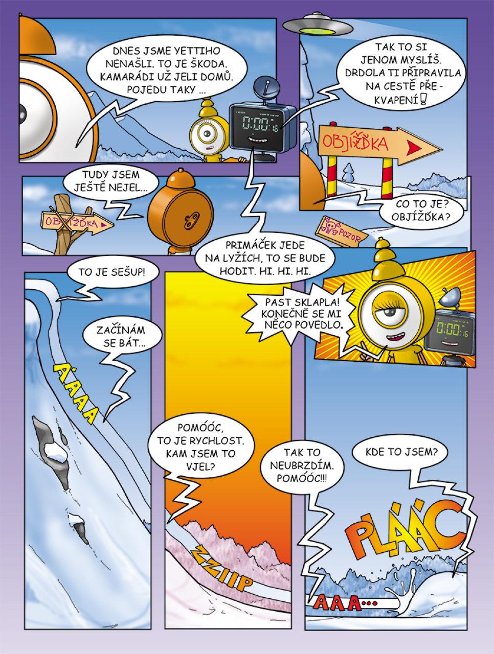 Ukázka z prvního čísla časopisu Primáček