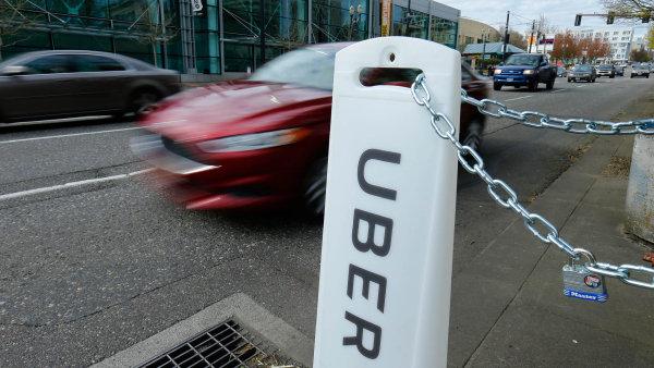 Uber letos v Praze zvýšil počet jízd na více než trojnásobek.