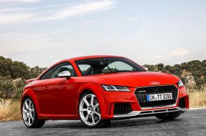 Audi TT RS: Blyštivé kupé s legendárním motorem