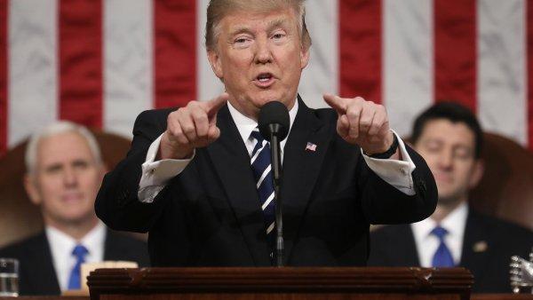 První projev Donalda Trumpu v Kongresu