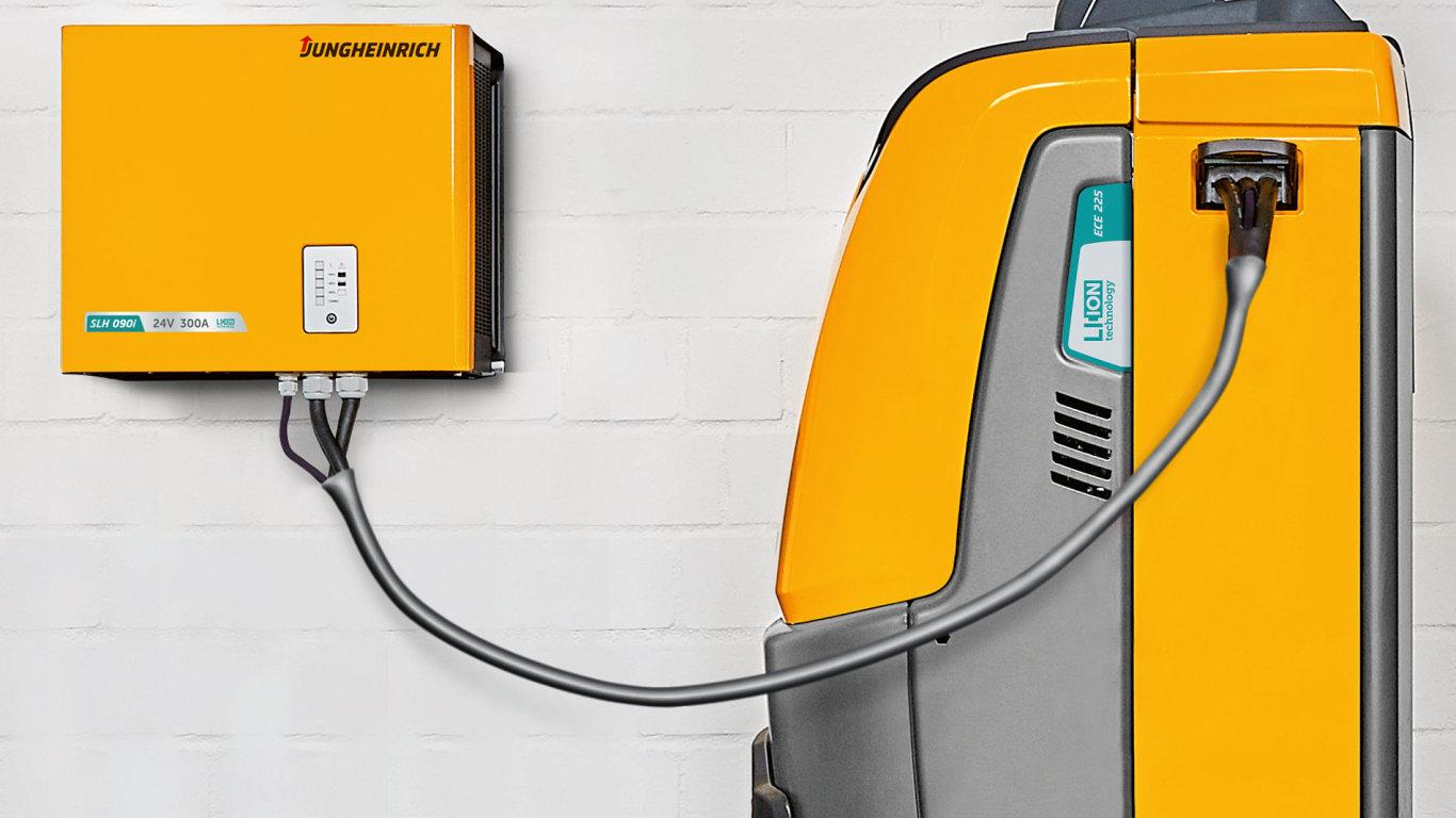 Ve světě manipulačních vozíků se prosazují li-ion baterie