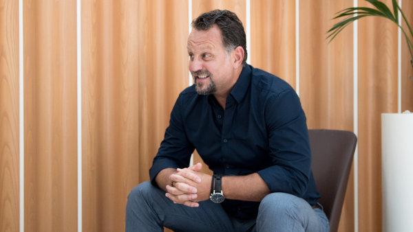 Majitel Liglass Trading CZ Michael Smelík.