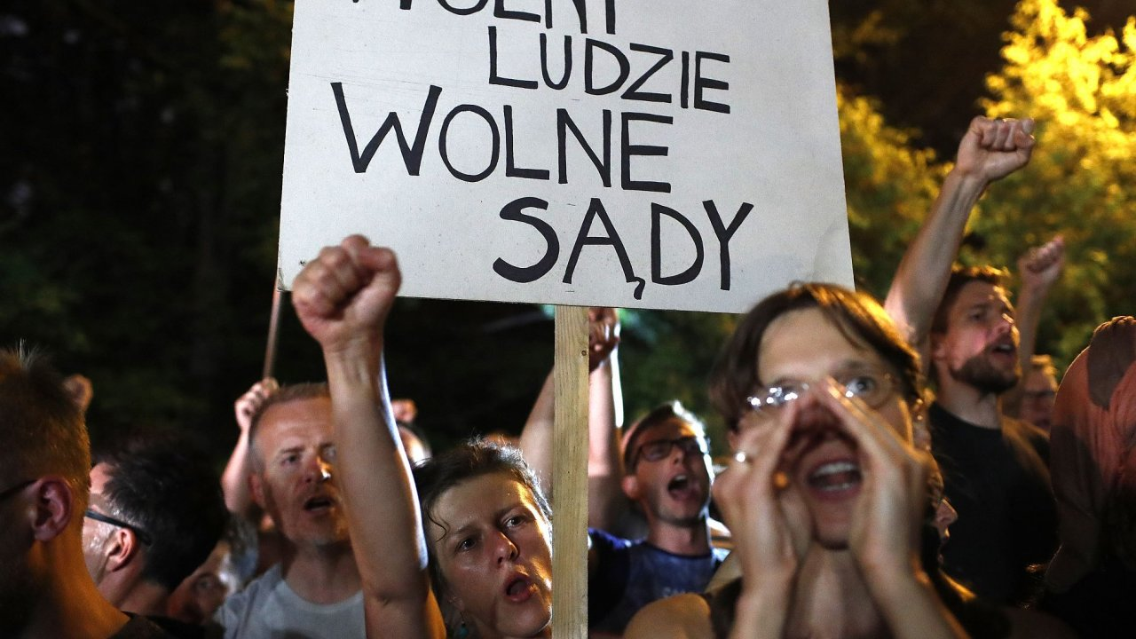 Polsko, soud, senát