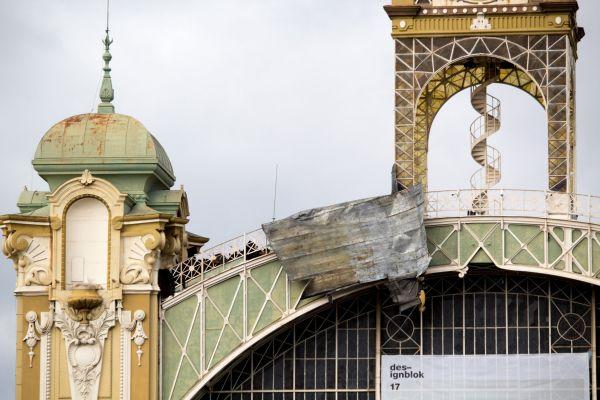 Střecha Průmyslového paláce