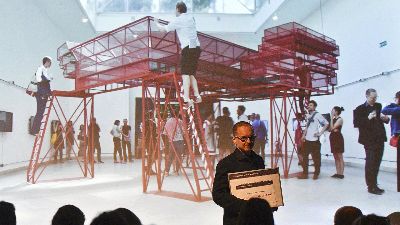Hájka vybrala porota, v níž zasedli architekti Adam Gebrian, Josef Pleskot, Regina Loukotová, Marcela Steinbachová a vítězka loňského ročníku, umělkyně Kateřina Šedá, z pěti finalistů.