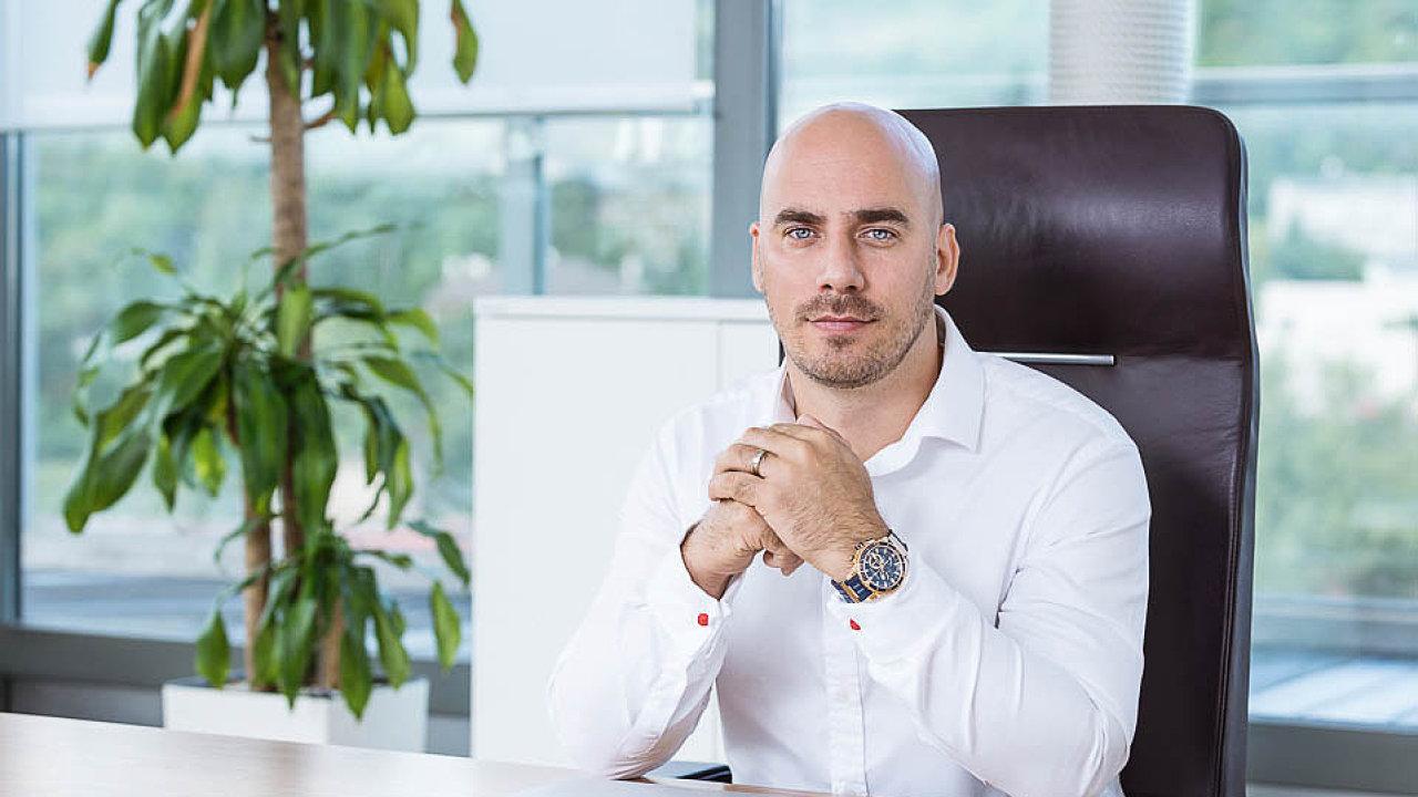 Martin Hubinger, partner skupiny T.E