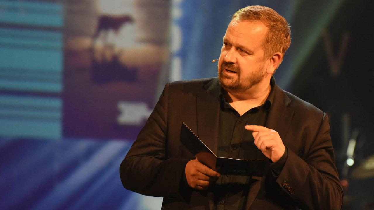 Bývalý šéfredaktor stanice Českého rozhlasuVltava Petr Fischer.