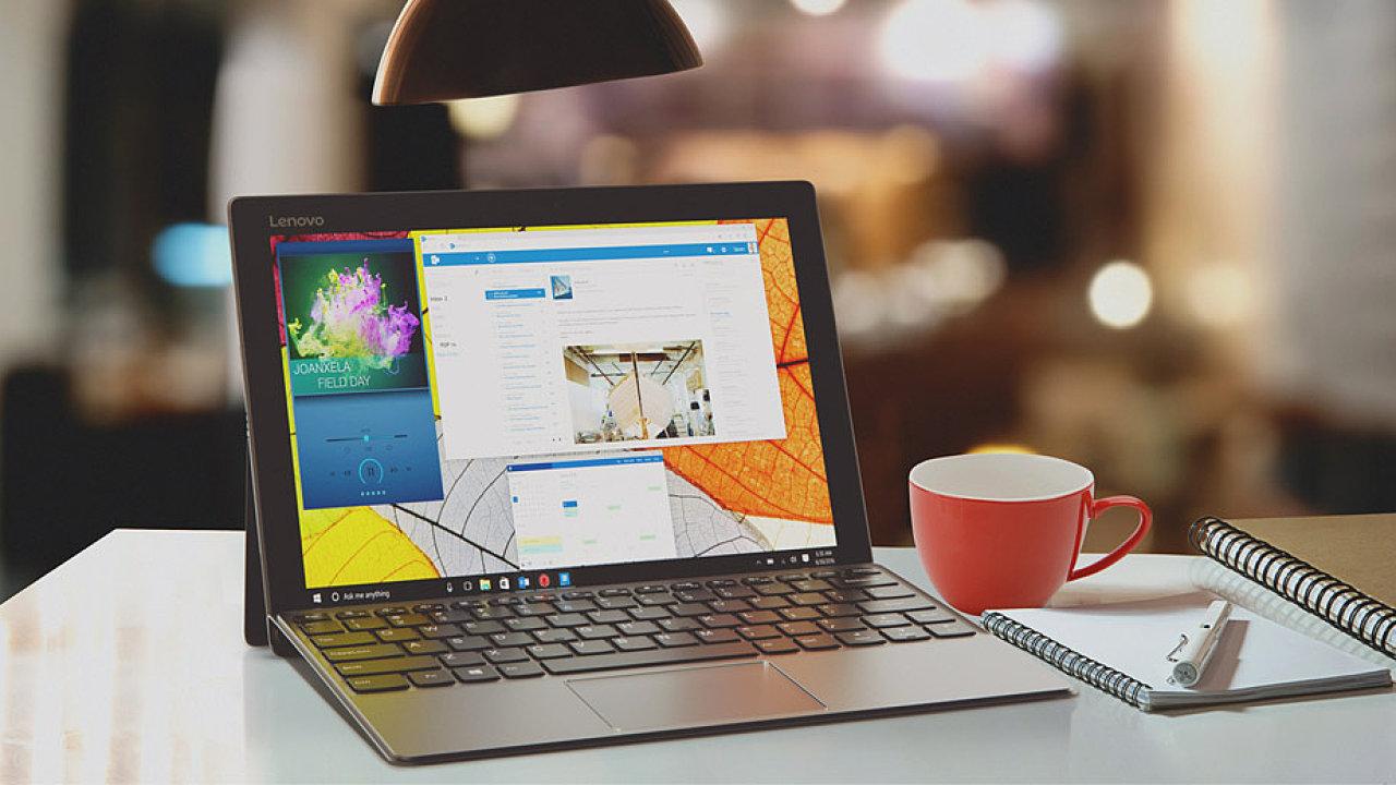 Tablet Lenovo Miix 720 je levnější konkurence pro Microsoft Surface.