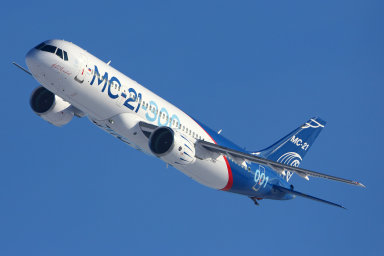 Ruský civilní letoun středního doletu MS-21