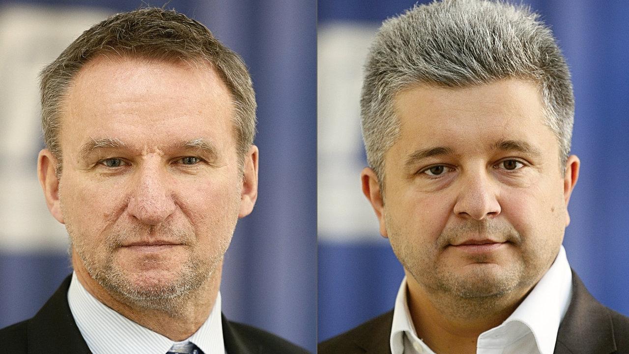 Michal Heřman a Michal Vereš novými členy Představenstva ČD
