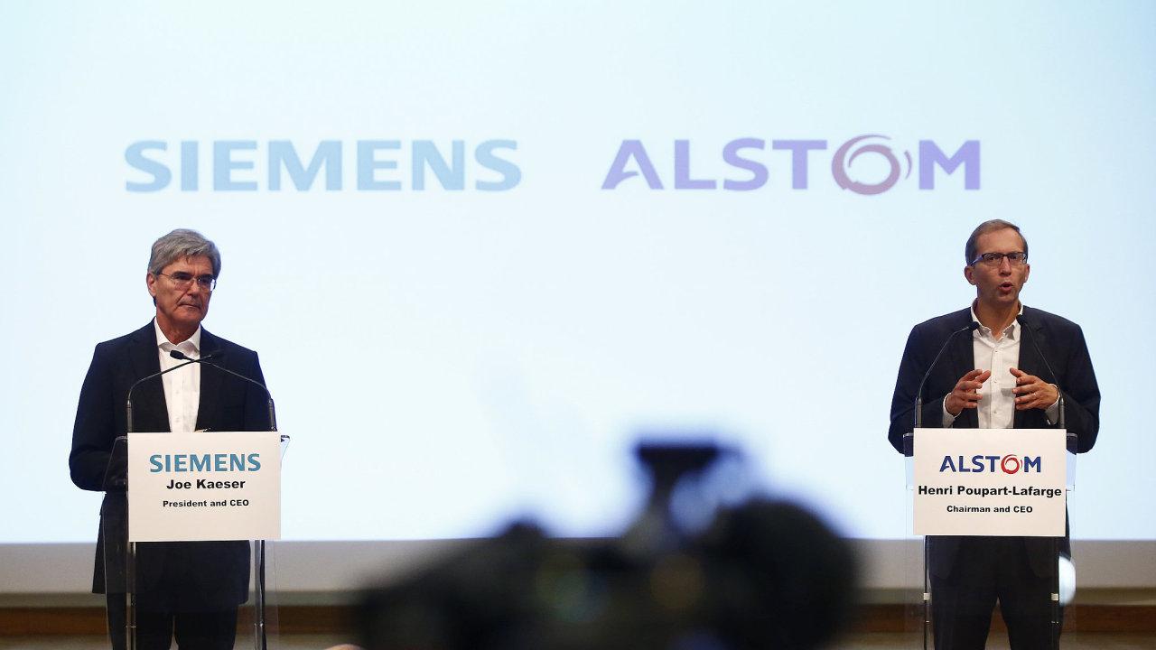 Alstom je výrobcem nejen signalizační techniky, ale též francouzských vlakových souprav TGV. Naproti tomu Siemens vyvíjí německé vysokorychlostní vlaky ICE.