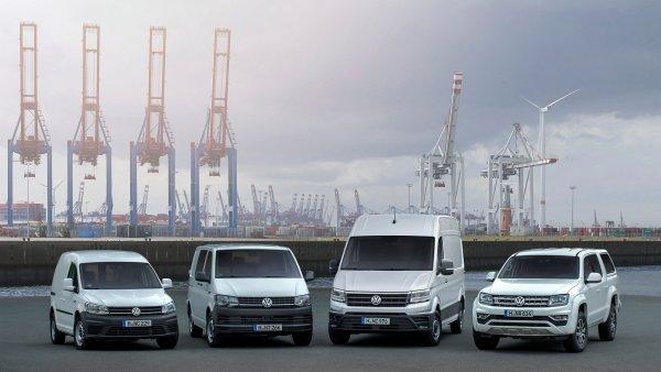 Užitková vozidla Volkswagen.