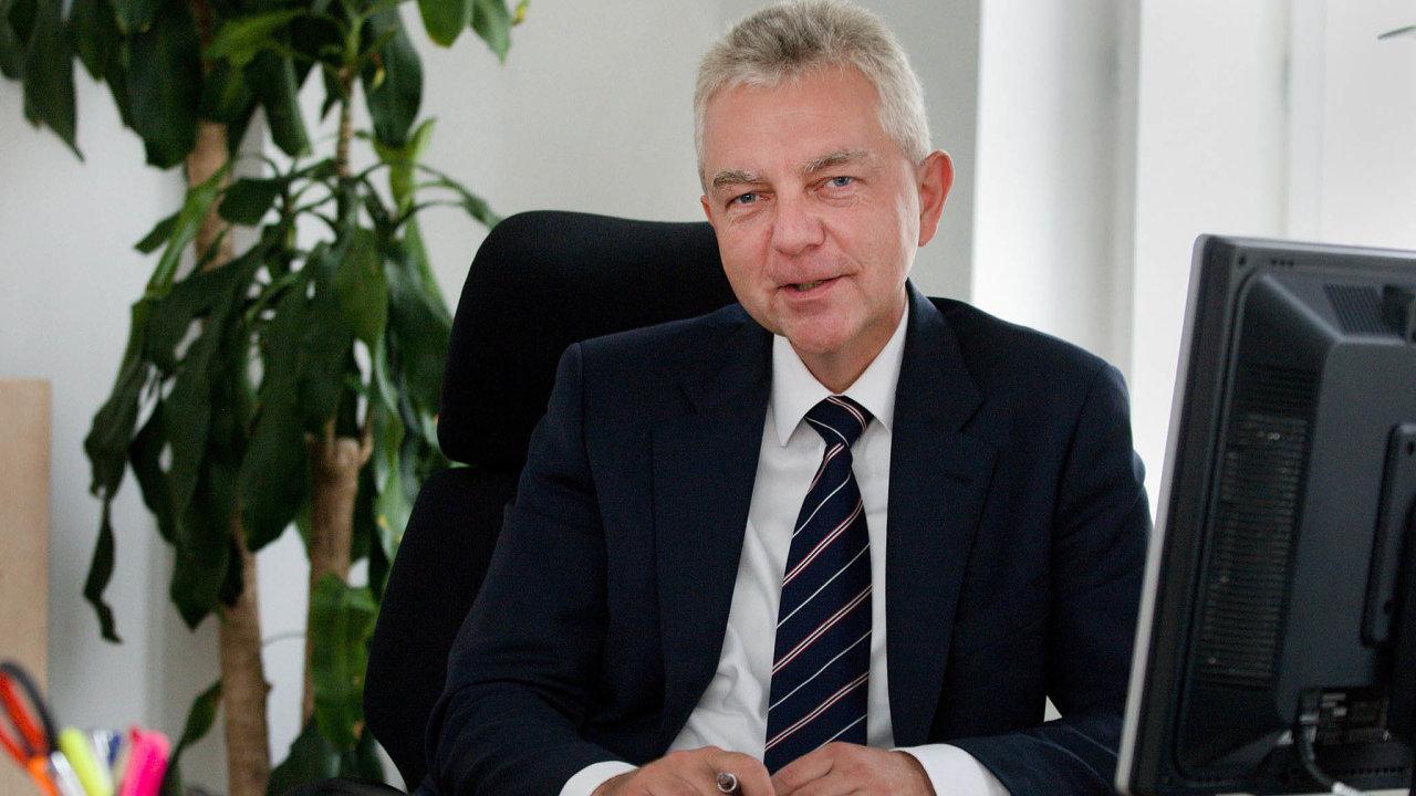 Ladislav Kročák, ředitel sekce dohledu nad finančními trhy II v ČNB.