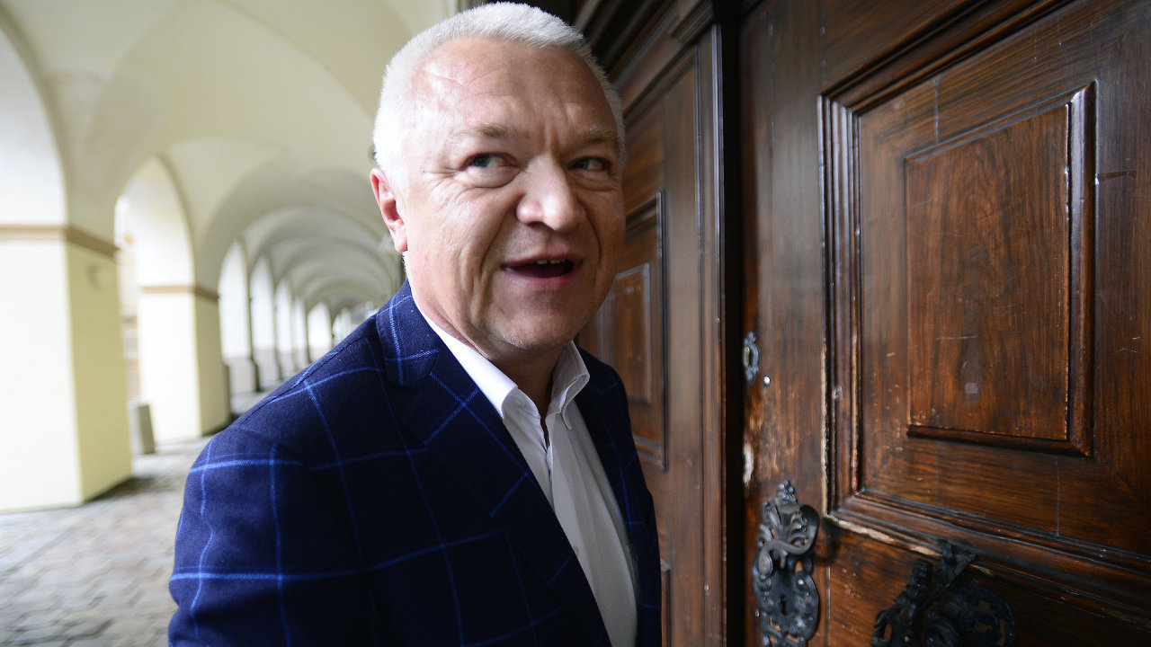 Místopředseda hnutí ANO Jaroslav Faltýnek Praha 22.10.2017