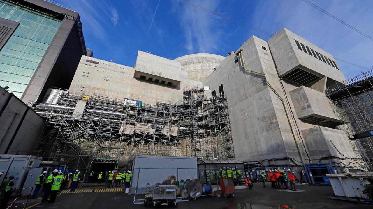Několikanásobně se prodražila stavba jaderné elektrárny vefrancouzském Flamanville.