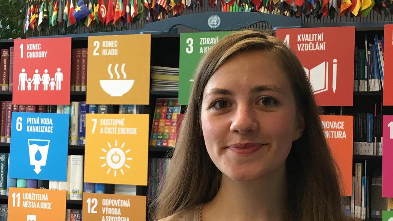 Mladá delegátka: Barbora Kvasničková se oživotní prostředí zajímá odtřinácti let.