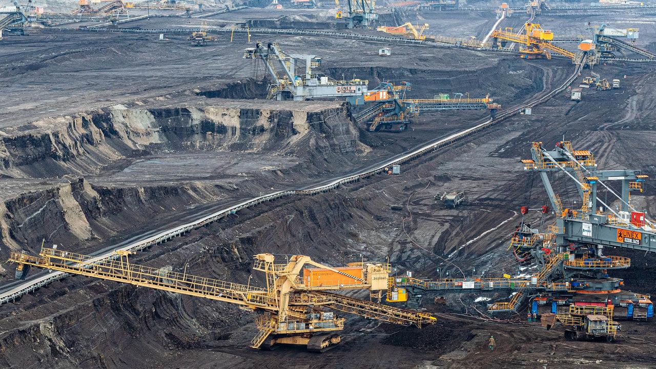 Výrobci energií hlásí první ztráty, těžařům se ale zatím daří relativně dobře. Otázkou ovšem je, co shnědouhelnými doly udělá očekávaný úbytek poptávky.