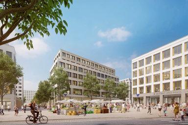Nasídlišti vpražské Písnici vznikne nové náměstí jakomísto pro setkávání obyvatel itrhy. Opodobě sídliště se mluví vsouvislosti splánovanou výstavbou linky metra D