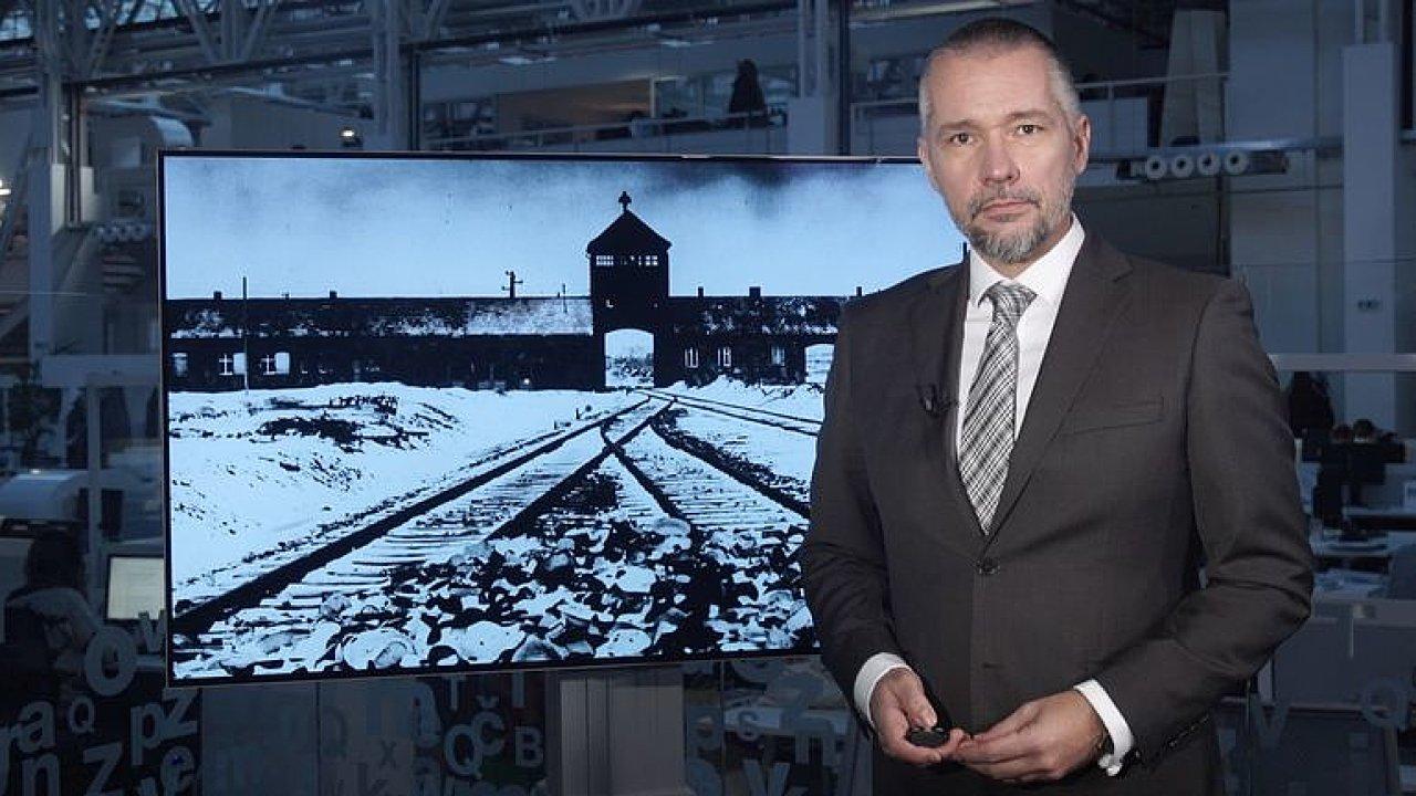 75 let od osvobození Osvětimi: Továrna na smrt ve vzpomínkách přeživších.