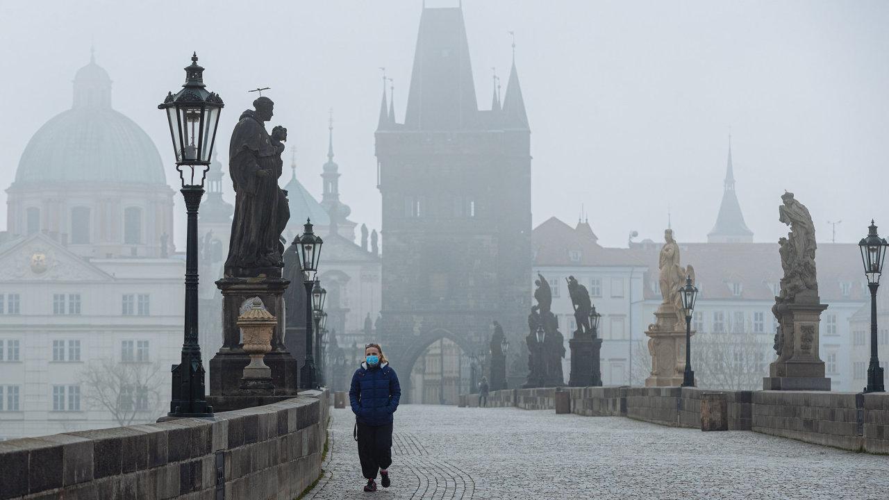 koronavirus, Praha, karanténa