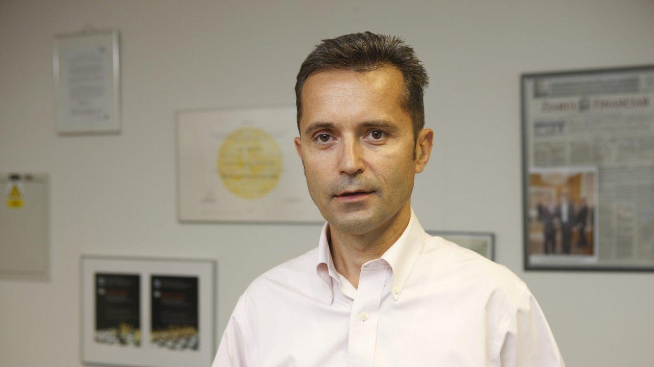 Jan Pravda, zakladatel hedgeového fondu Sanning Capital.