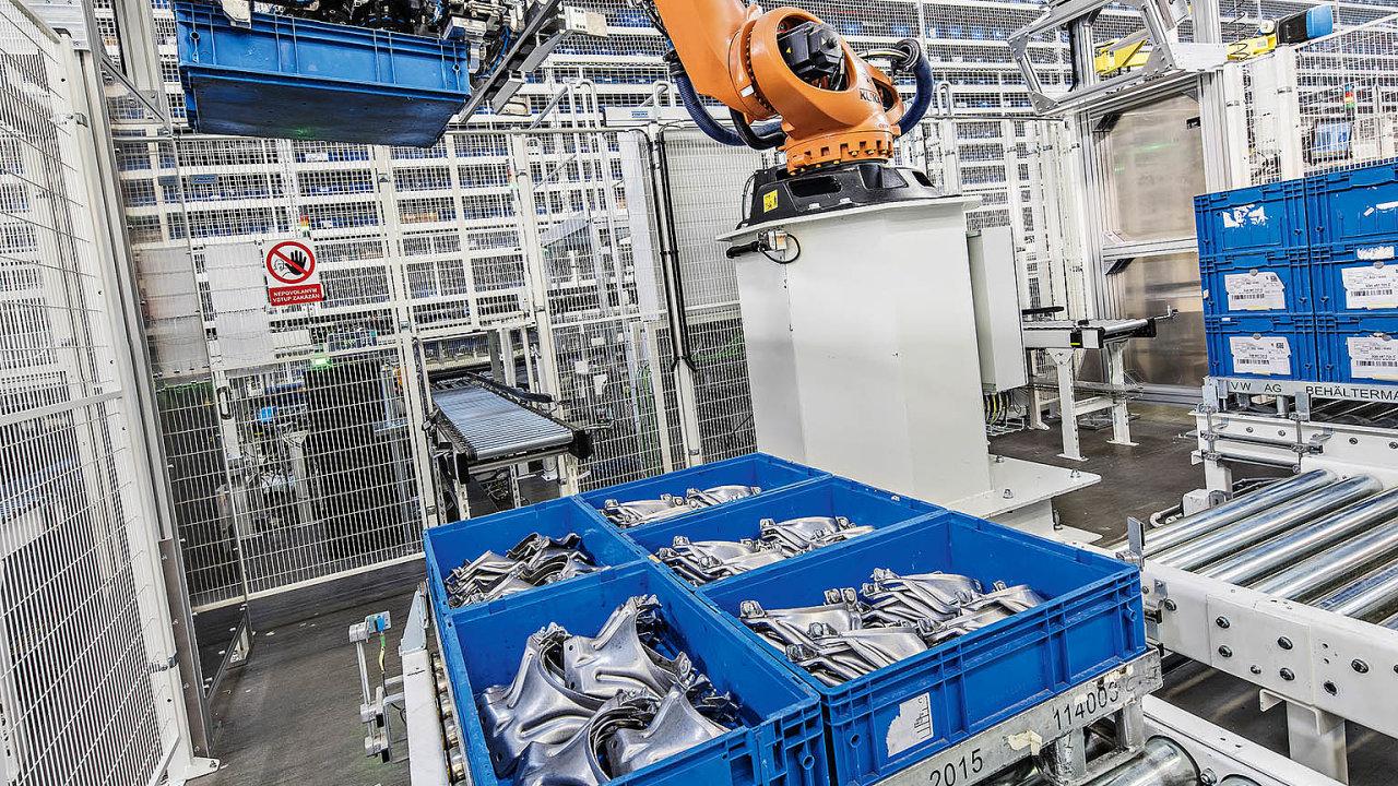 Automaty, ať už vpodobě fyzického robota vtovárně nebo softwarového programu vkancelářských procesech, pomáhají lidem srutinní prací.