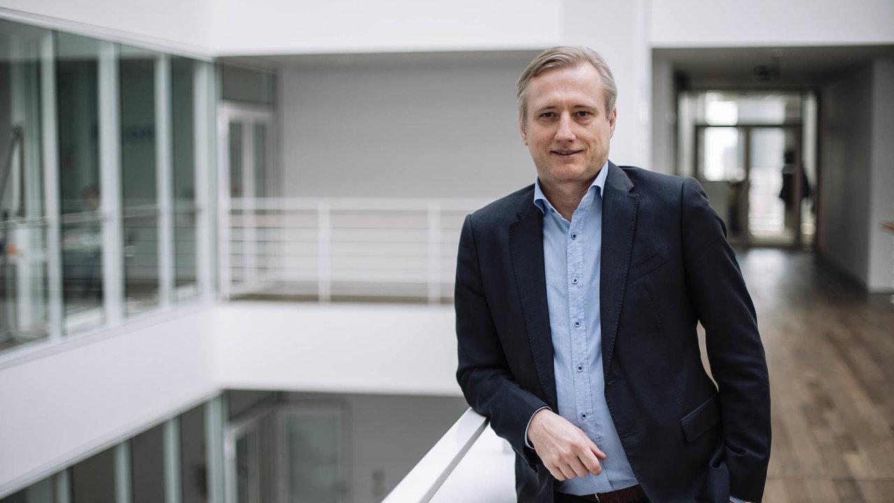 Jiří Moser, řídící partner konzultantské společnosti PwC Česká republika