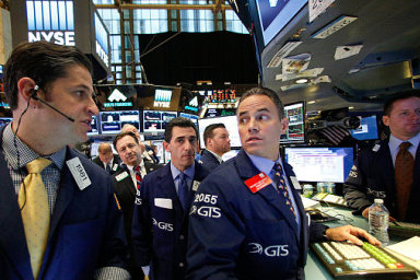 Poslední týdny jsou na trzích turbulentní. Ilustrační foto.