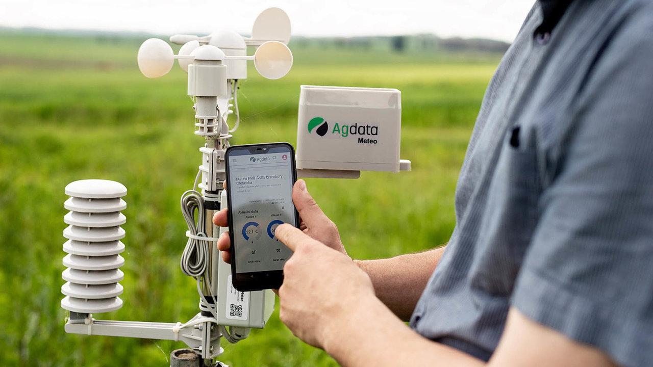 Technologii ihardware pro svůj systém snímání stavu ovzduší si firma Agdata vyvíjí kompletně sama.