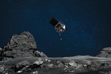 Sonda NASA úspěšně přistála na planetce Bennu. Odebrané vzorky mají pomoci pochopit, jak vznikl život