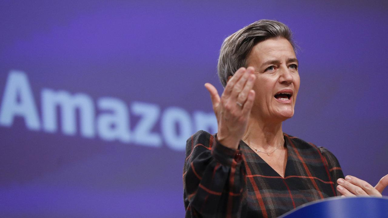 Eurokomisařka pro hospodářskou soutěž Margrethe Vestagerová obvinila Amazon ze zneužívání dominantního postavení na trhu.