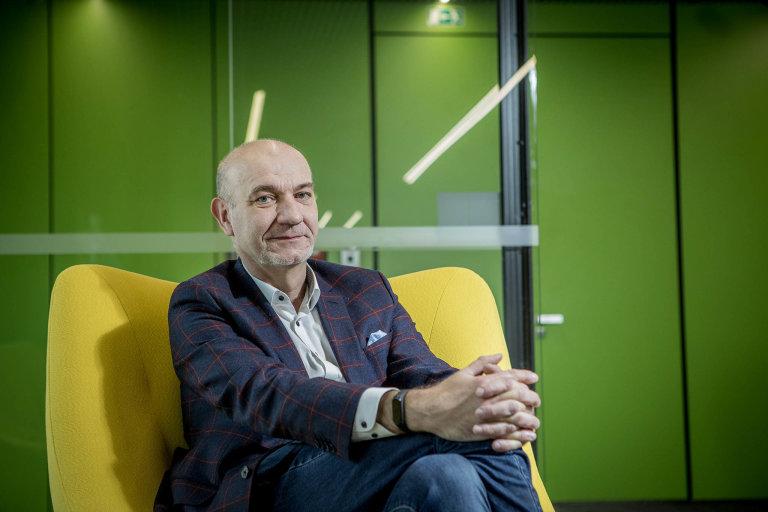 Vladimír Finsterle, farmaceut a majitel firmy Pears Health Cyber, která provozuje e-shop Lékárna.cz
