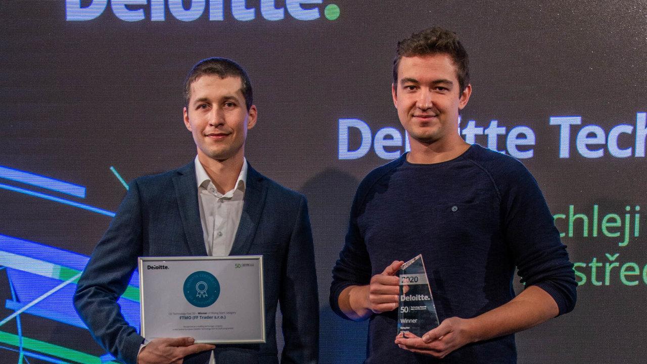 Zakladatelé společnosti FF Trader Otakar Šuffner (vlevo) aMarek Vašíček.