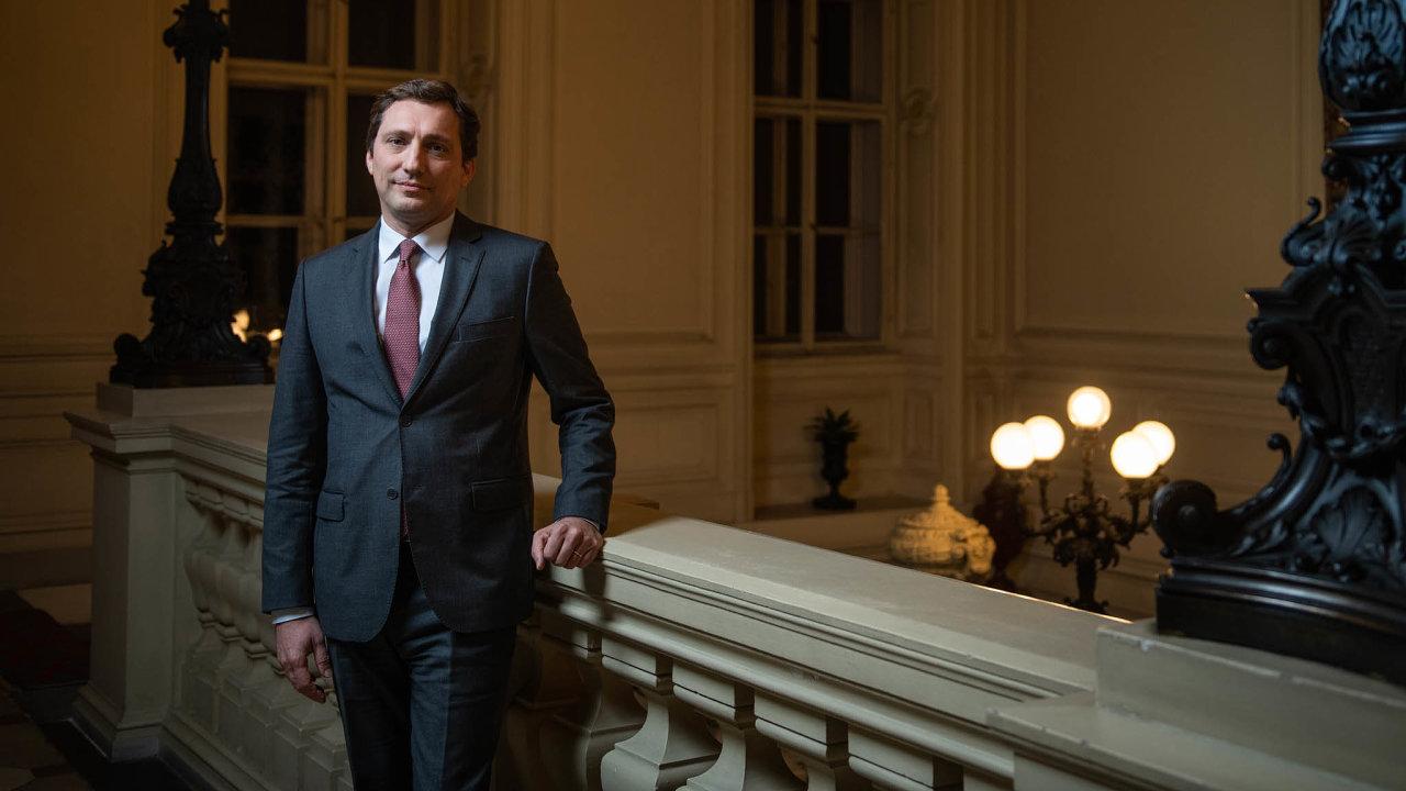 Alexis Dutertre, francouzský velvyslanec v Praze