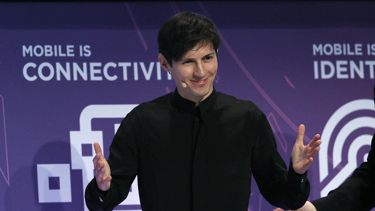 Za první tři dny tohoto týdne na komunikační síti Telegram, kterou vlastní Pavel Durov, přibylo 25 milionů nových uživatelů.