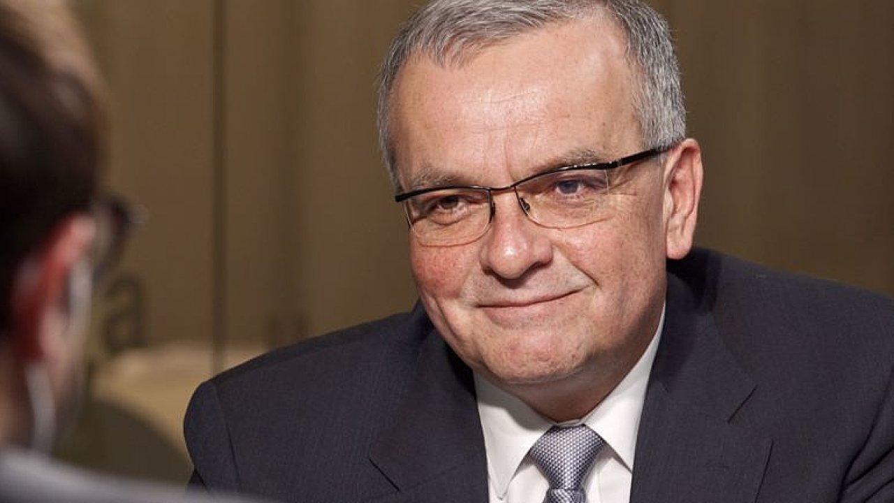 Kandidaturu na prezidenta nevylučuji, kritika od Babiše je vyznamenání, říká Kalousek