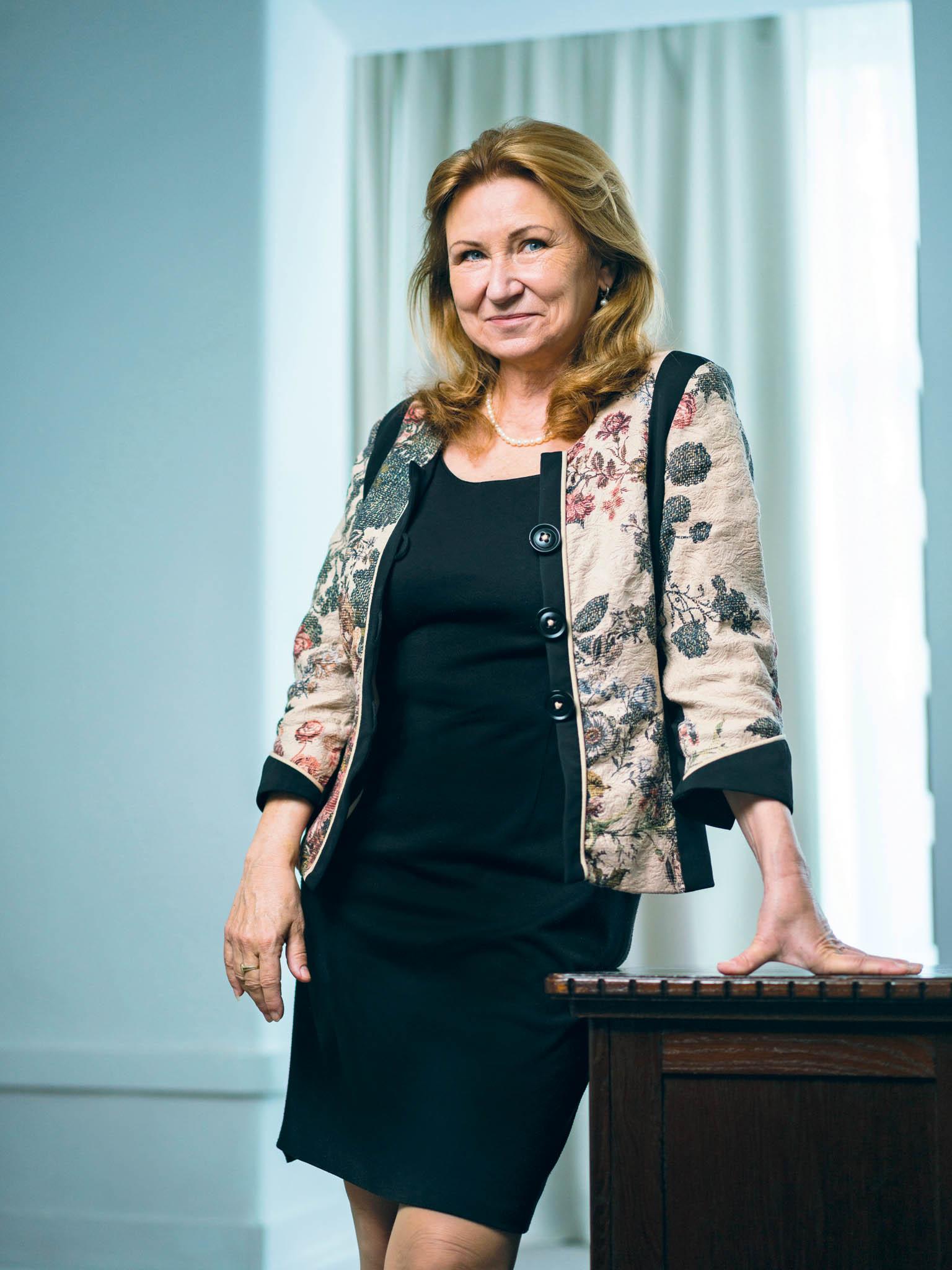 Šéfka Národní rozpočtové rady Eva Zamrazilová
