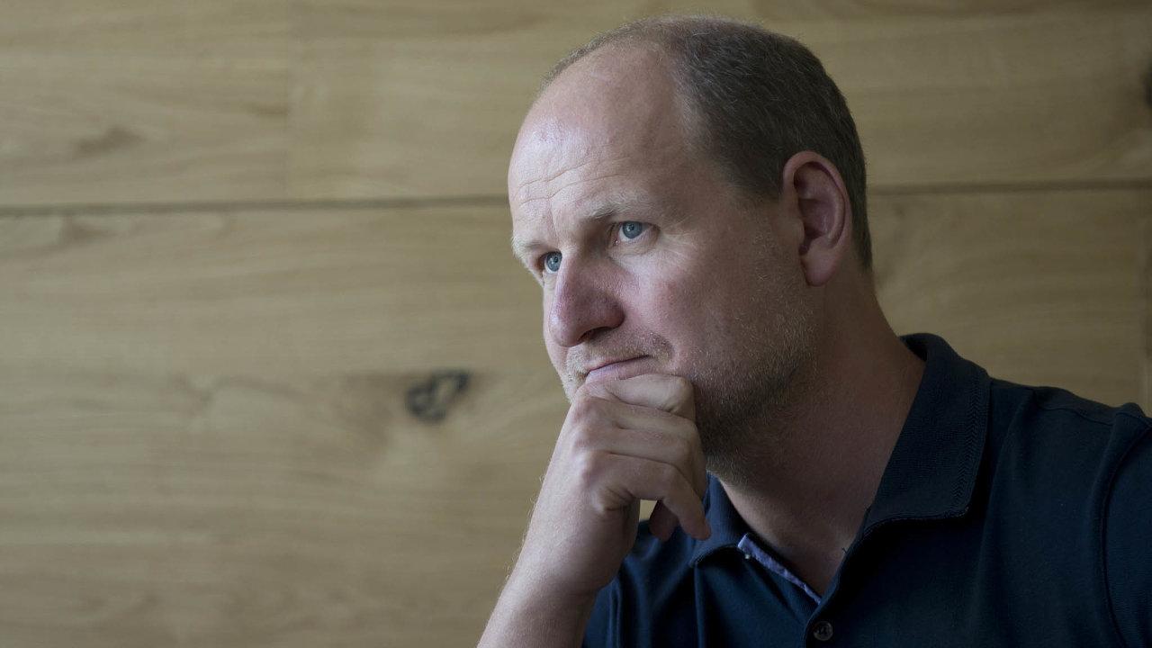 Někdejší partner skupiny Penta Martin Kúšik (na snímku z roku 2014) má na dosah ovládnutí řetězce Sportisimo.