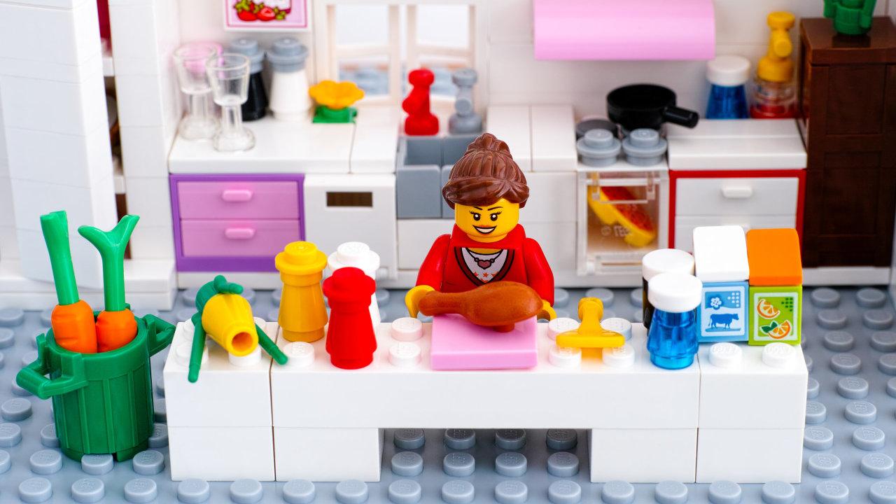 Lego stereotyp kuchyně
