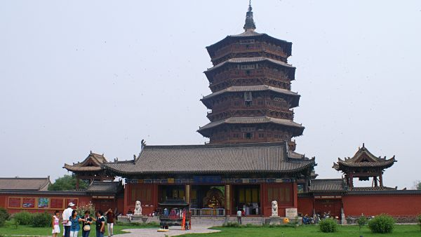 The Wooden Tower Of Ying county