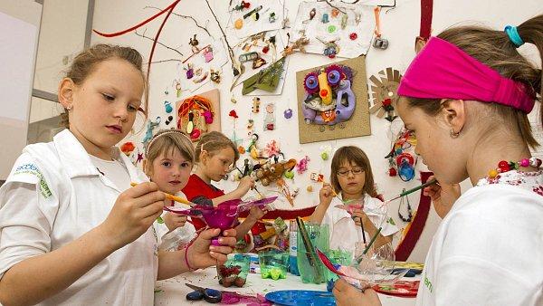 Galerie umění pro děti v Praze