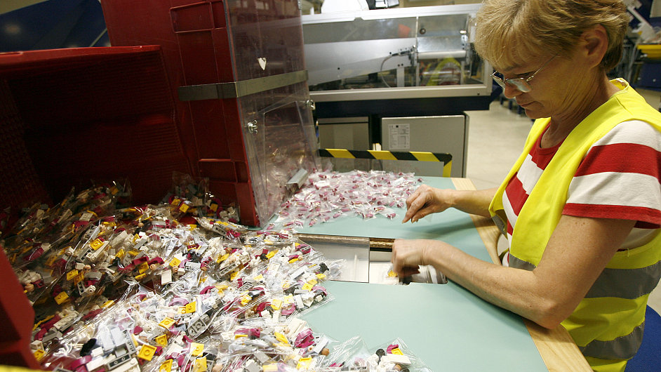 Kladenská továrna Lego