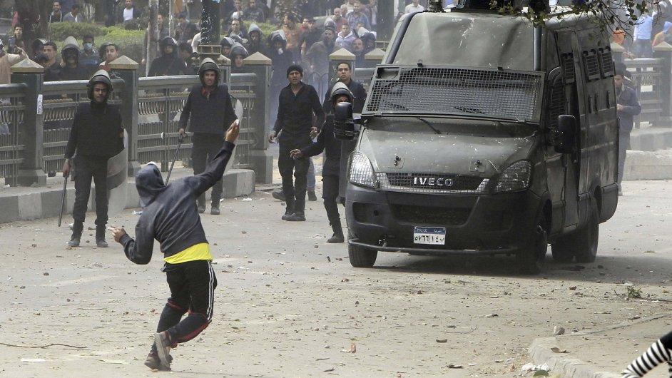 Protesty ve městě Port Saíd pokračují