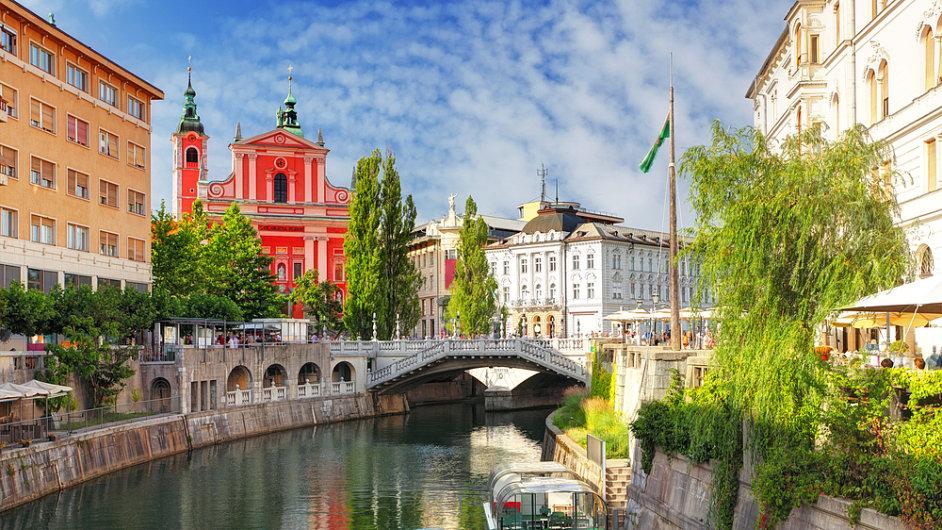 Výhodnou destinací je pro letošek i slovinská metropole Lublaň.