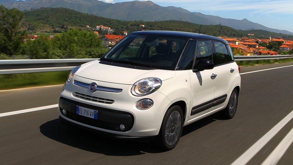 Většina Fiatů 500L nově registrovaných v Česku se rychle prodá do zahraničí.