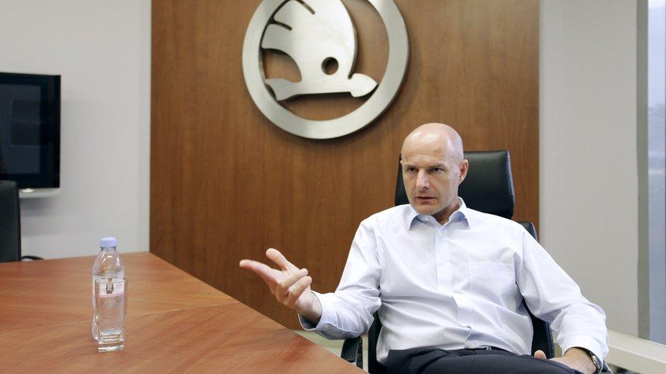 Josef Bernard, generální ředitel Škody Transportation